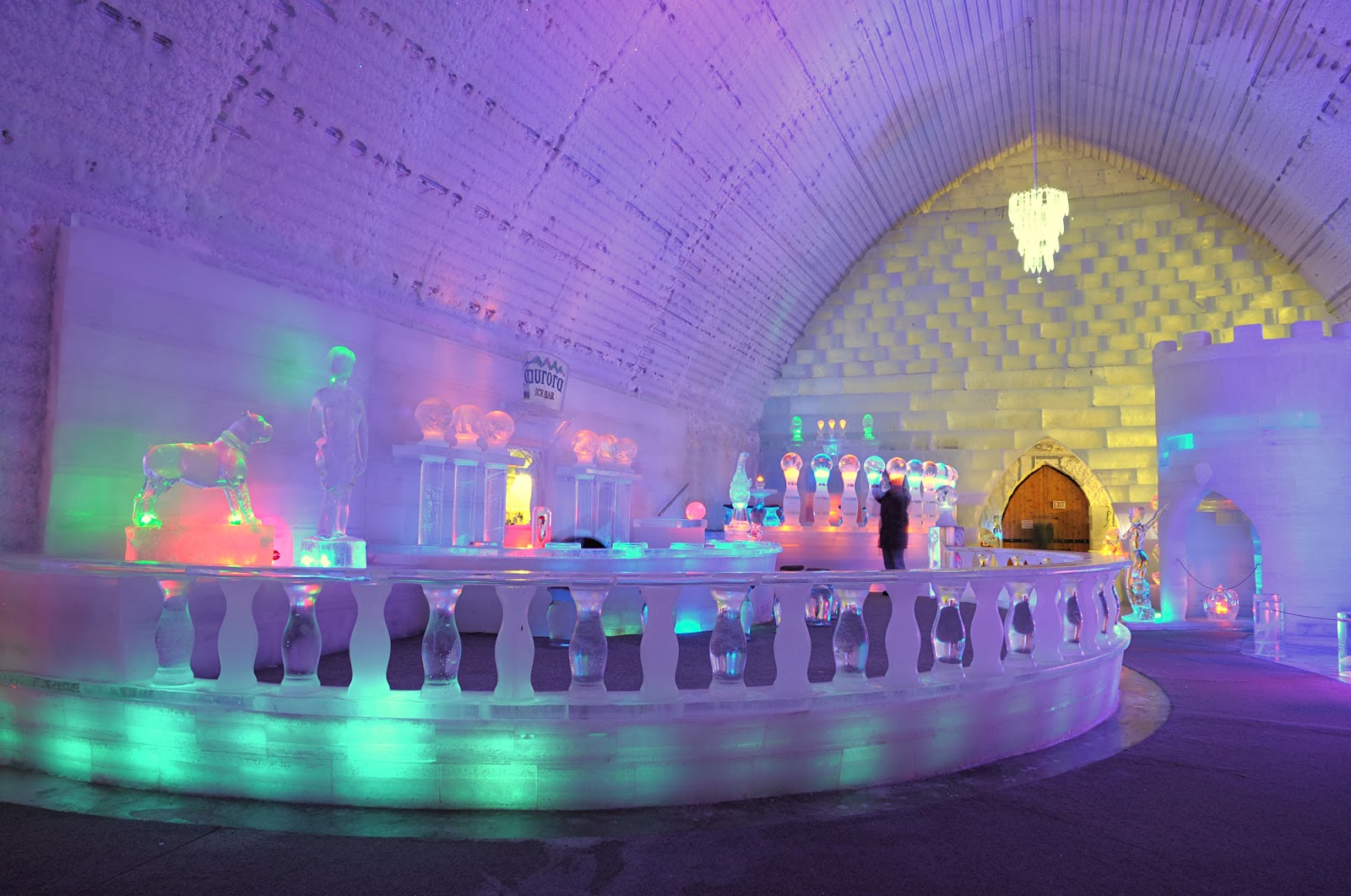 Hotel de glace returns to quebec to showcase feats of for Design hotel quebec