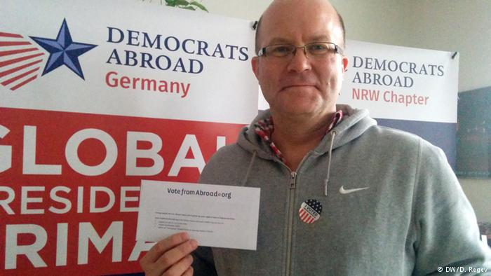 A Germany Living Room Becomes A Polling Station For Democrats