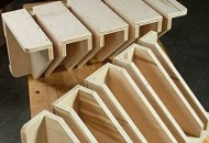Make Two Clamp Racks from a Sheet of Plywood