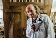 Norman Mackay of Woodeye Furniture - this month's profiled furniture maker