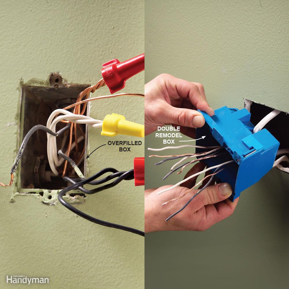 Overfilling Electrical Boxes