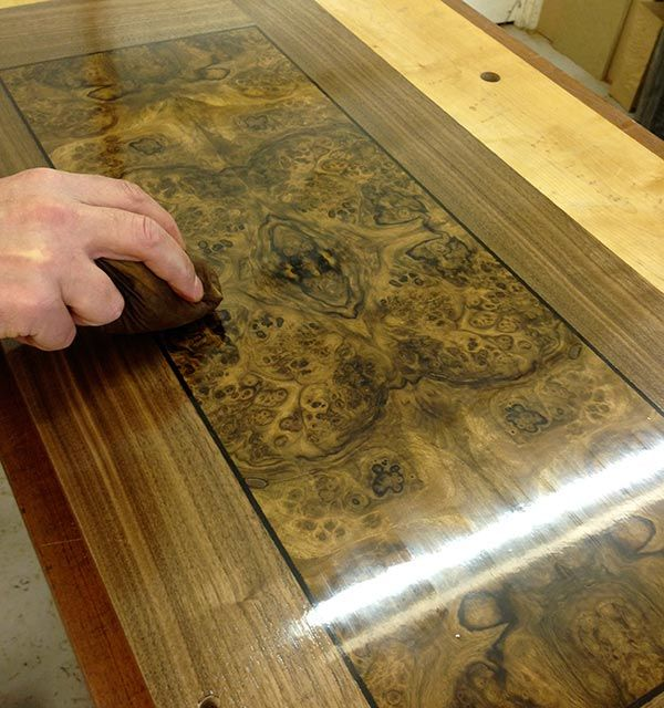how to french polish wood furniture