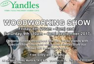 Yandles Woodworking Show Sept 2017
